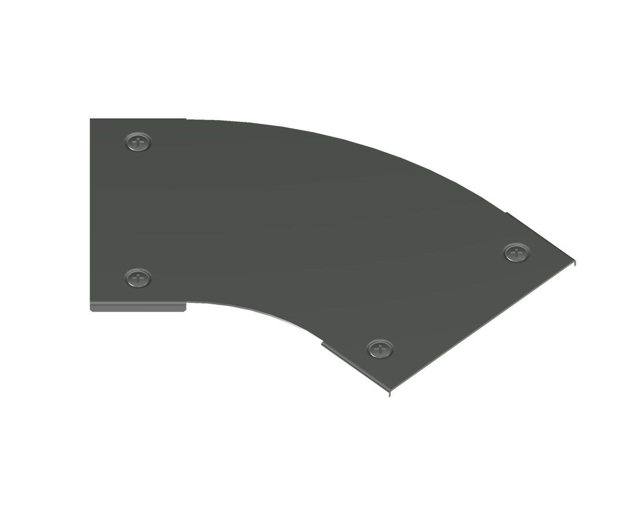 Pokrywa kolanka 45° z zamkiem PKKCZM45