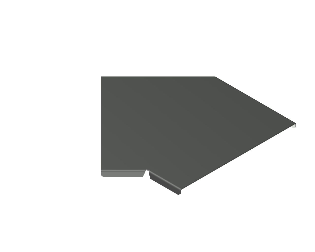 Pokrywa kolanka 45° PKK45
