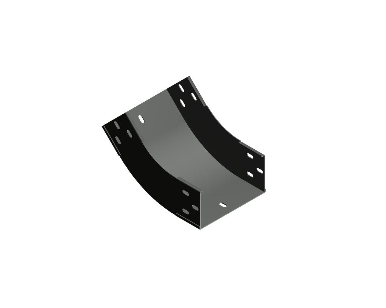 Łuk zewnętrzno-wewnętrzny 45° LZWKC45