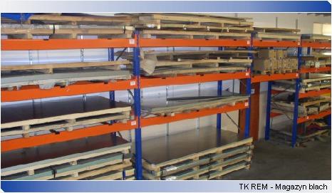 Sheet warehouse